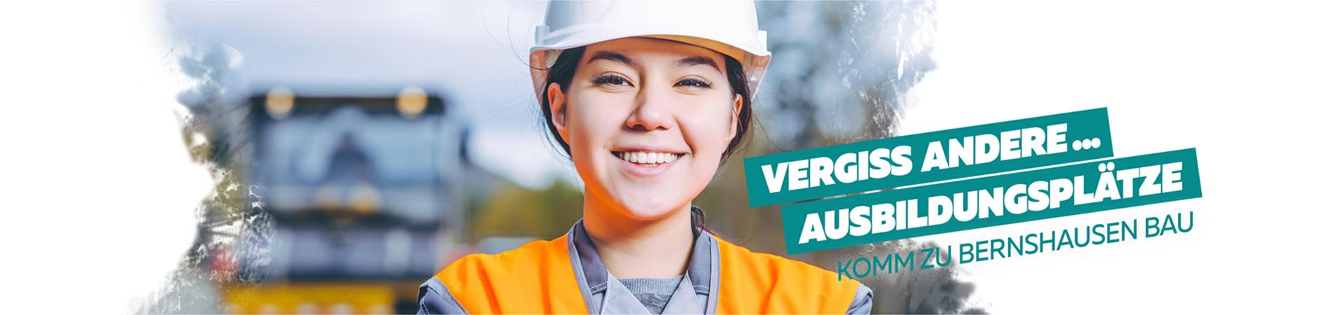 Bernshausen Bau Ausbildung zum Straßenbauer